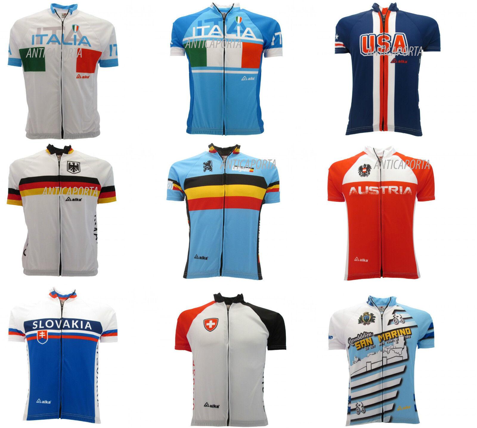 Shirt Skyline Project Cycling National  Germany Austria USA Technical