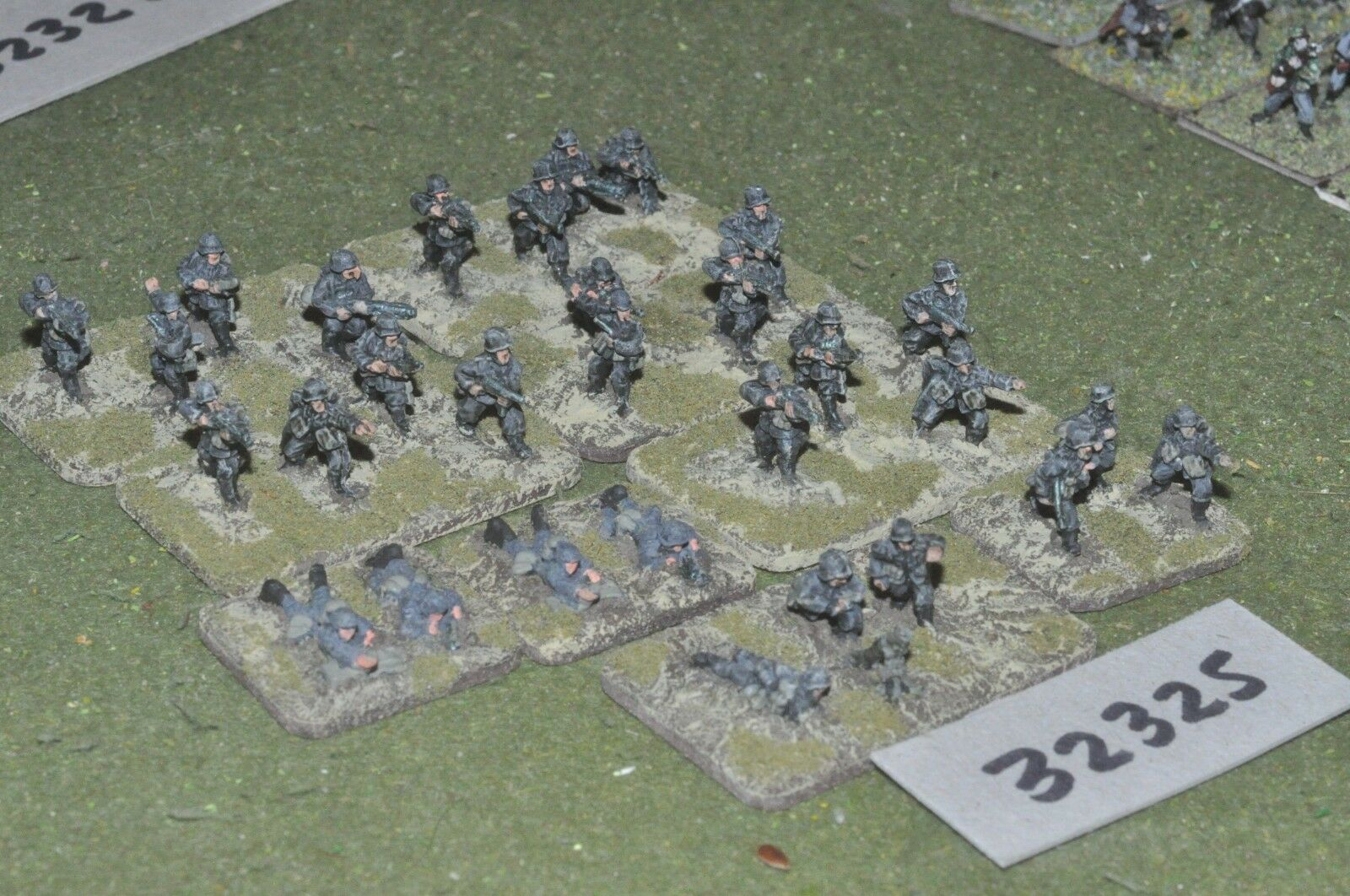 15mm WW2   german - section 30 figures - inf (32325)