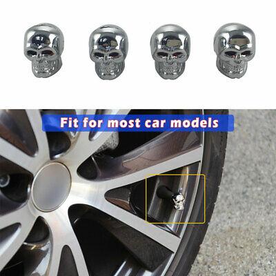 1X Silver Crown Style Car Tire Air Valve Stems Cover Caps Wheel Rims Universal