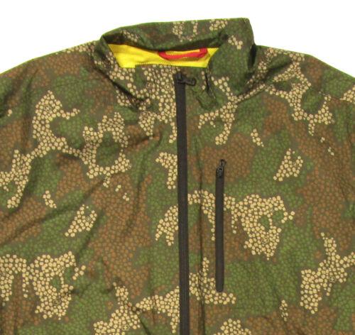 Details about  /NWOT Victorinox Men/'s Green Multi Camo Lightweight Windbreaker Full Zip Jacket