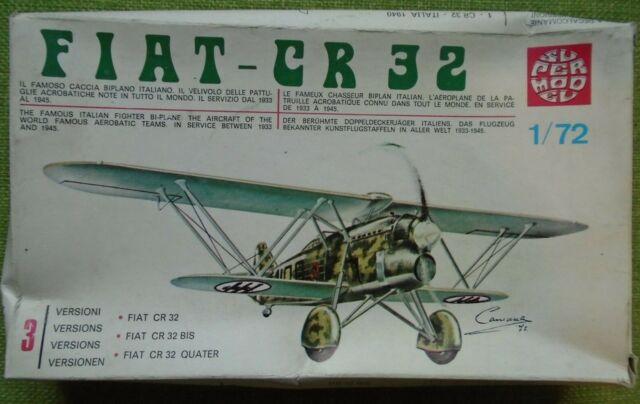 Model Kit SUPERMODEL 1//72 FIAT CR 32