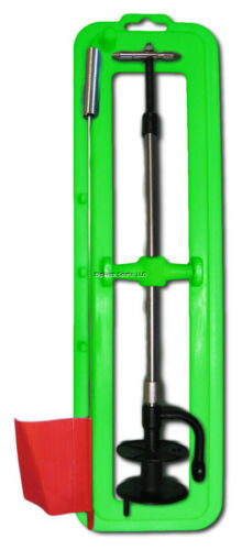 ** 2 Pack NEW Lakco Ice Fishing Tip Up Lime Green Great Value TUVALUEG