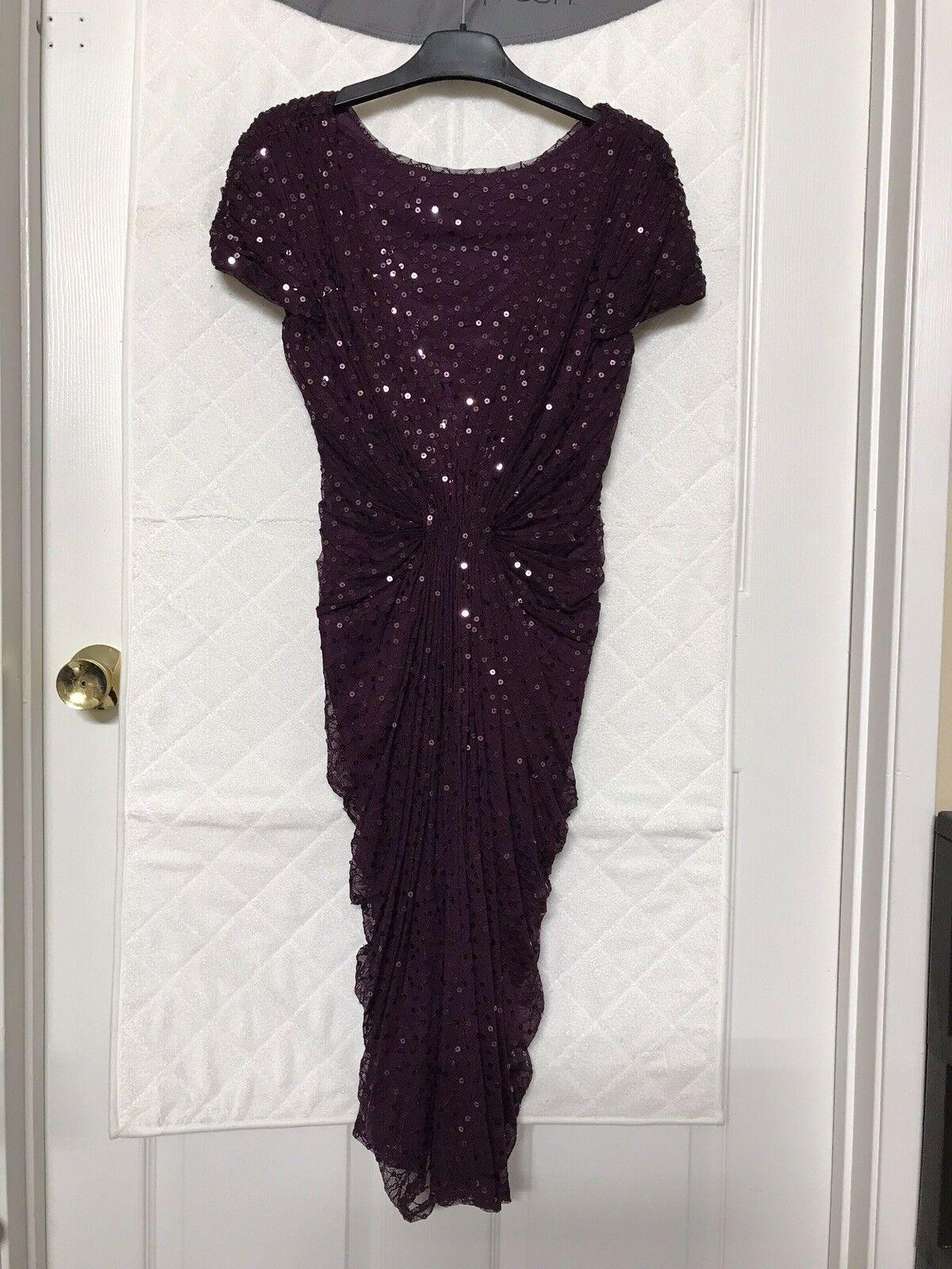 TADASHI SHOJI Sequin Dress- Größe XS Regular