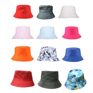 Men-Two-side-Bucket-Hat-Fishing-Brim-Boonie-visor-Sun-Summer-Camping-Outdoor-Cap