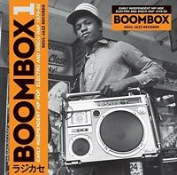 Soul Jazz Record Presents - Boombox [new Cd] With Booklet on sale