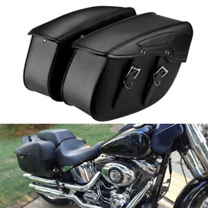 Motorcycle Saddlebags For Harley Sportster 883 1200 Dyna Side Luggage Tool Bag