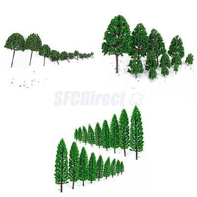 3 Set 12pc,10pc,11pc Model Green Tree Train Railway Scenery Landscape Scale 1:50