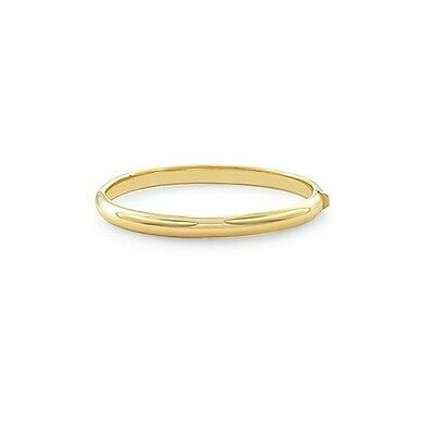 Just 14k Yellow Gold Domed Bangle Ejb15101 Fashionable And Attractive Packages Precious Metal Without Stones