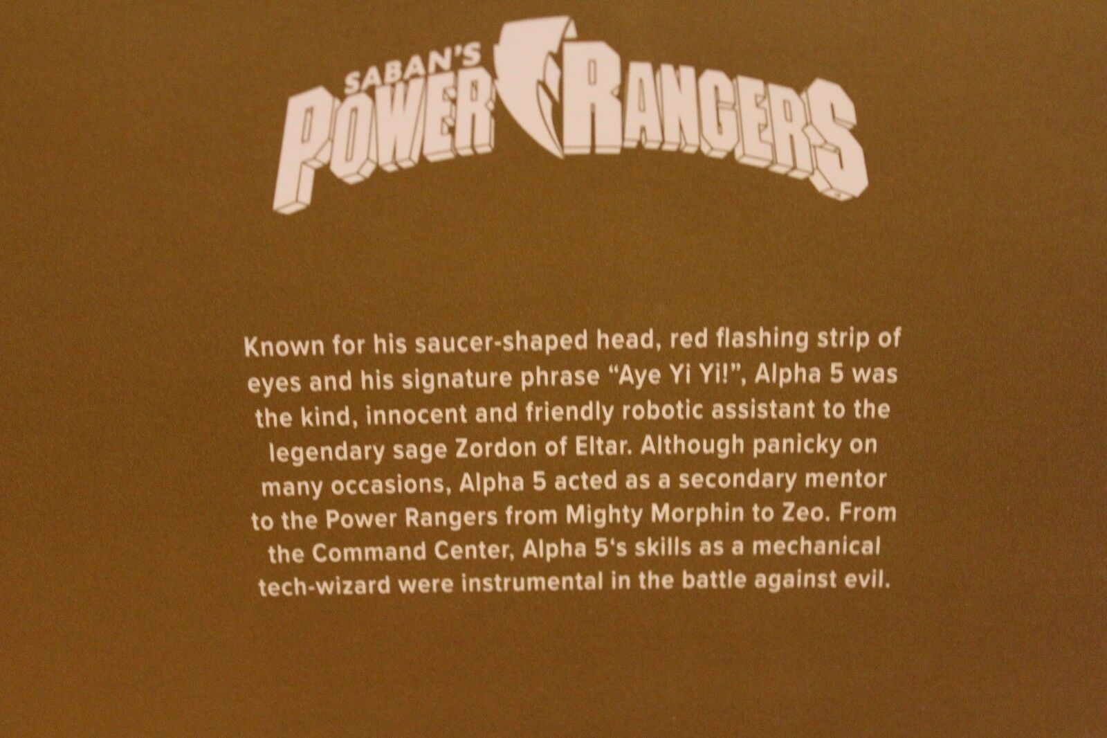 NIB Power Rangers Alpha 5 Scoops Figure Loot Crate DX DX DX Exclusive - Sealed 6540f2