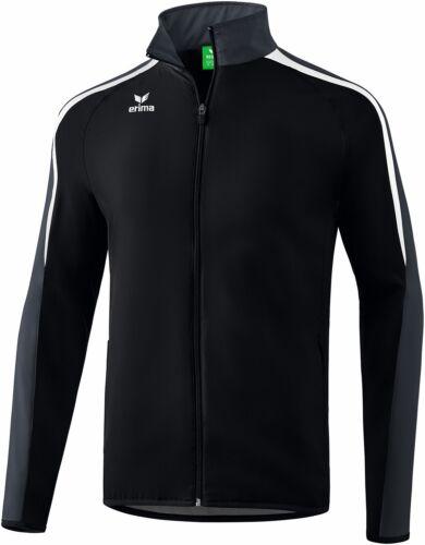 Erima Liga 2.0 Präsentationsjacke schwarz weiß grau Herren Trainingsjacke NEU