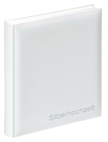 WALTHER Album SILBERHOCHZEIT Fotoalbum Silberne Hochzeit Hochzeitsfotoalbum NEU
