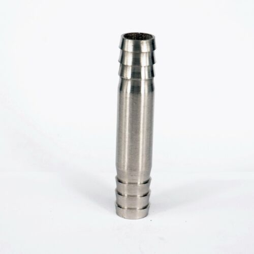 Fit 16mm I//D Length 80mm Hose 304 Stainless Steel Barb Hose Tail Connector