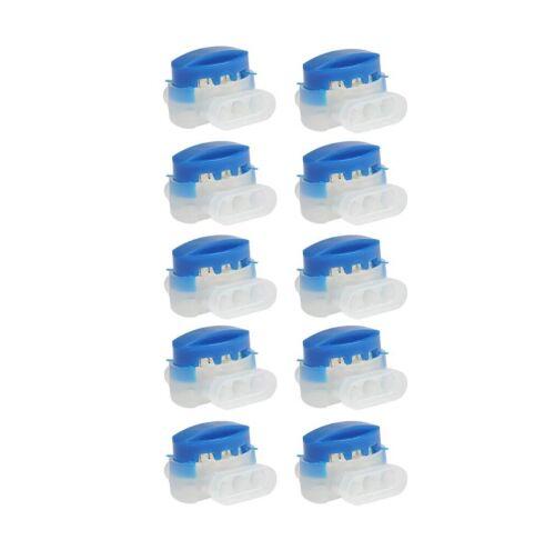 wählen Sie 10,20,oder 50 Stück Kabelverbinder blau für Husqvarna Automower