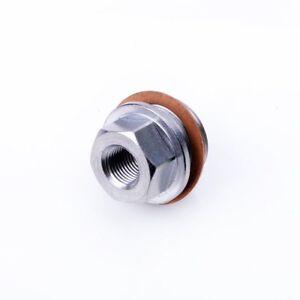 TRITDT Oil Water Boost Temp Sensor Turbo Adapter Kit M20x1.5mm to 1/8NPT