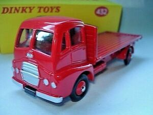 Atlas-Dinky-Supertoy-No-432-Guy-Warrior-all-Red-Flat-Truck-mint-boxed-Code-3
