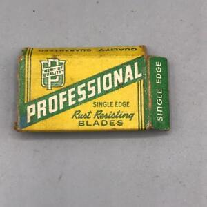 Vintage-Professional-Single-Edge-Razors-Package-Advertising-Design
