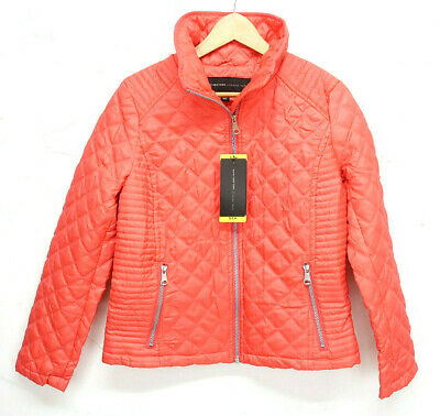 NEW Andrew Marc Women/'s Quilted puffer Jacket Full Zip Jacket Assorted Colors