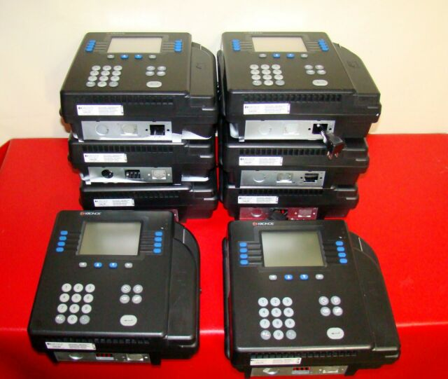 Kronos 8602800-501 System 4500 Digital Badge Time Clock With Power Adapter  Test