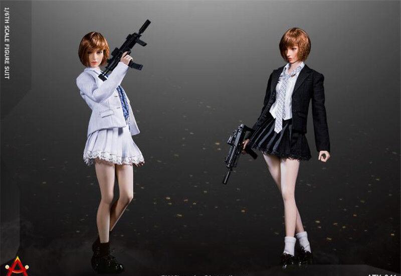 ACPLAY 1 6 ATX041 Battle Girl's Girl's Girl's Uniform Suit Female Skirt Dress Clothing Sets ceb843