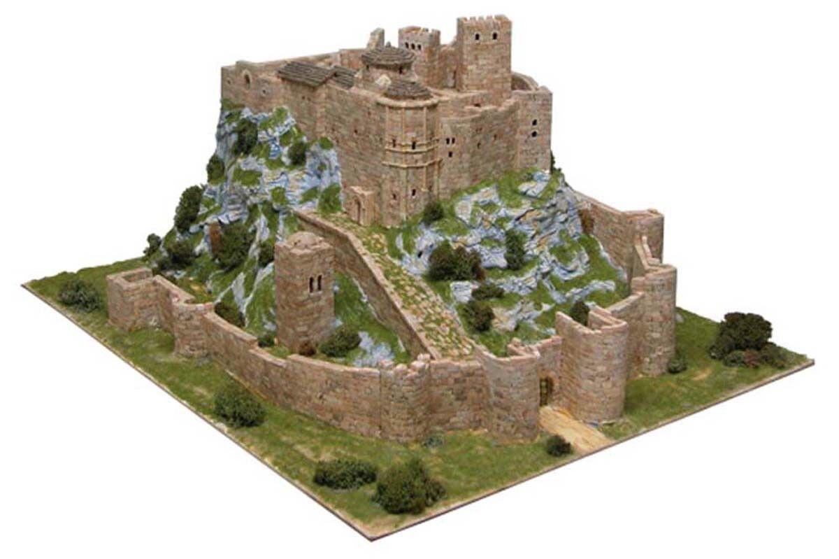 Chateau de Loarre (Espagne) - Ech 1 200 - 8600 pcs - 53 x 65 x 30 cm - Dif 8,5