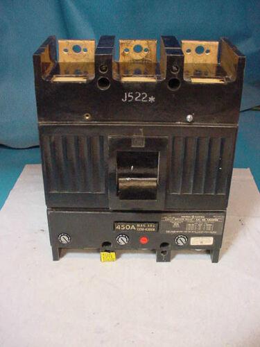 NEW GE TJK636F000 450 Amp Circuit breaker 480V