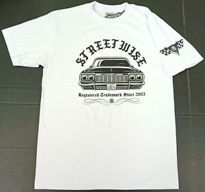 STREETWISE-RANFLA-T-shirt-Cholas-Rolas-Ranflas-Urban-Streetwear-Tee-Men-039-s-New