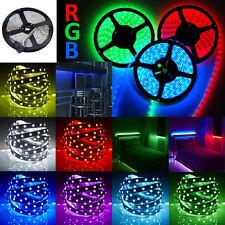 Super Bright 5V 3528 5050 SMD LED RGB Flexible Strip Home Xmas Party Decor Light