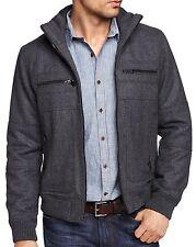 New EXPRESS Men's Wool Bomber Jacket, nwt, XL, $200 (Zip-Up Coat) *LAST ONE*