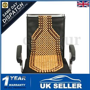 Image Is Loading WOODEN BEAD CAR VAN TAXI FRONT SEAT COVER