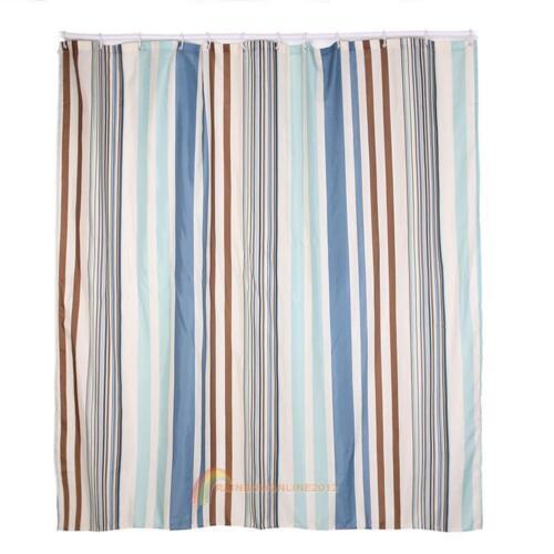 crochet Différents Motifs étanche salle de bain Rideau de douche Panel Sheer décor