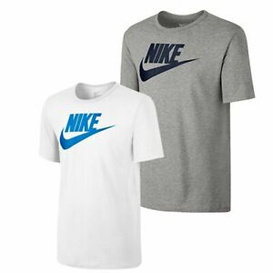 Nike-Mens-Futura-T-Shirt-Sports-Top-Retro-Cotton-Logo-Tee-Size-S-M-L-XL-XXL-NEW