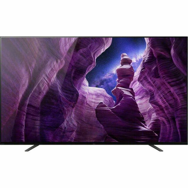 Sony A8H 65 4K ULTRA HD HDR OLED Smart TV, XBR-65A8H, 2020 Model