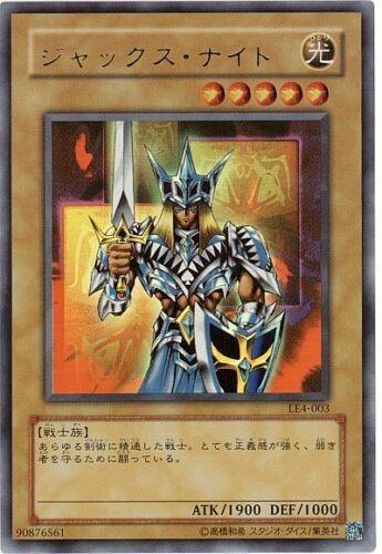 LE4-003 Yugioh Ultra Japanese Jack/'s Knight