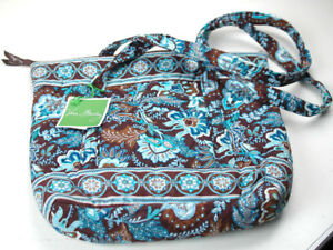 c1bd18aba7 VERA BRADLEY JAVA BLUE VILLAGER BAG  BRAND NEW W  TAGS  (STUDIO-17 ...