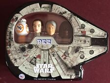 PEZ - 2017 Star Wars Millennium Falcon Tin - Set of 4 - Mint in Tin
