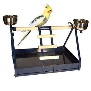 Support à perroquet de table Nature Cages pour petits perroquets et perruches