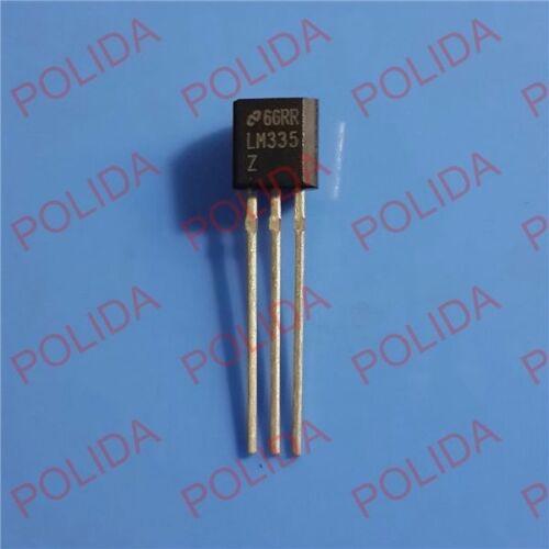 10PCS Precision Temperature Sensor IC NSC//ST TO-92 LM335Z LM335Z//NOPB LM335