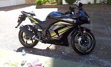 VIVID YELLOW RIM STRIPES WHEEL TAPE DECALS STICKERS Kawasaki Ninja 250 300 500 R