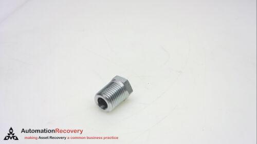 STEEL NEW* #245400 HEX HEAD PLUG THREAD: 1//4 BSPT PACK OF 5 1//4HP3MS