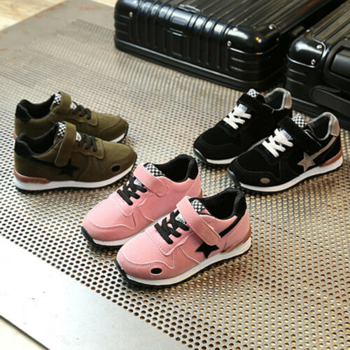 Toddler Kids Baby Boys Girls Sport Running Shoes Star Mesh Casaul Shoes Sneakers