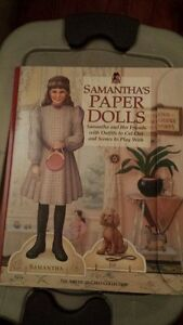 American Girl Paper Dolls Samantha - Clothes Uncut 2003 excellent condition