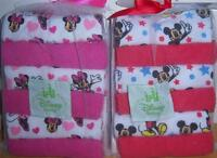 Disney Mickey Mouse Or Minnie Mouse 12pk Wash Cloths, Baby Shower, Diaper Cake