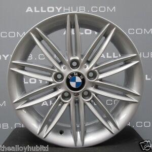 Details About Genuine Bmw 1 Series 207 M Sport 17 Inch Silver Alloy Wheels X4 E81 E82 E87 E88
