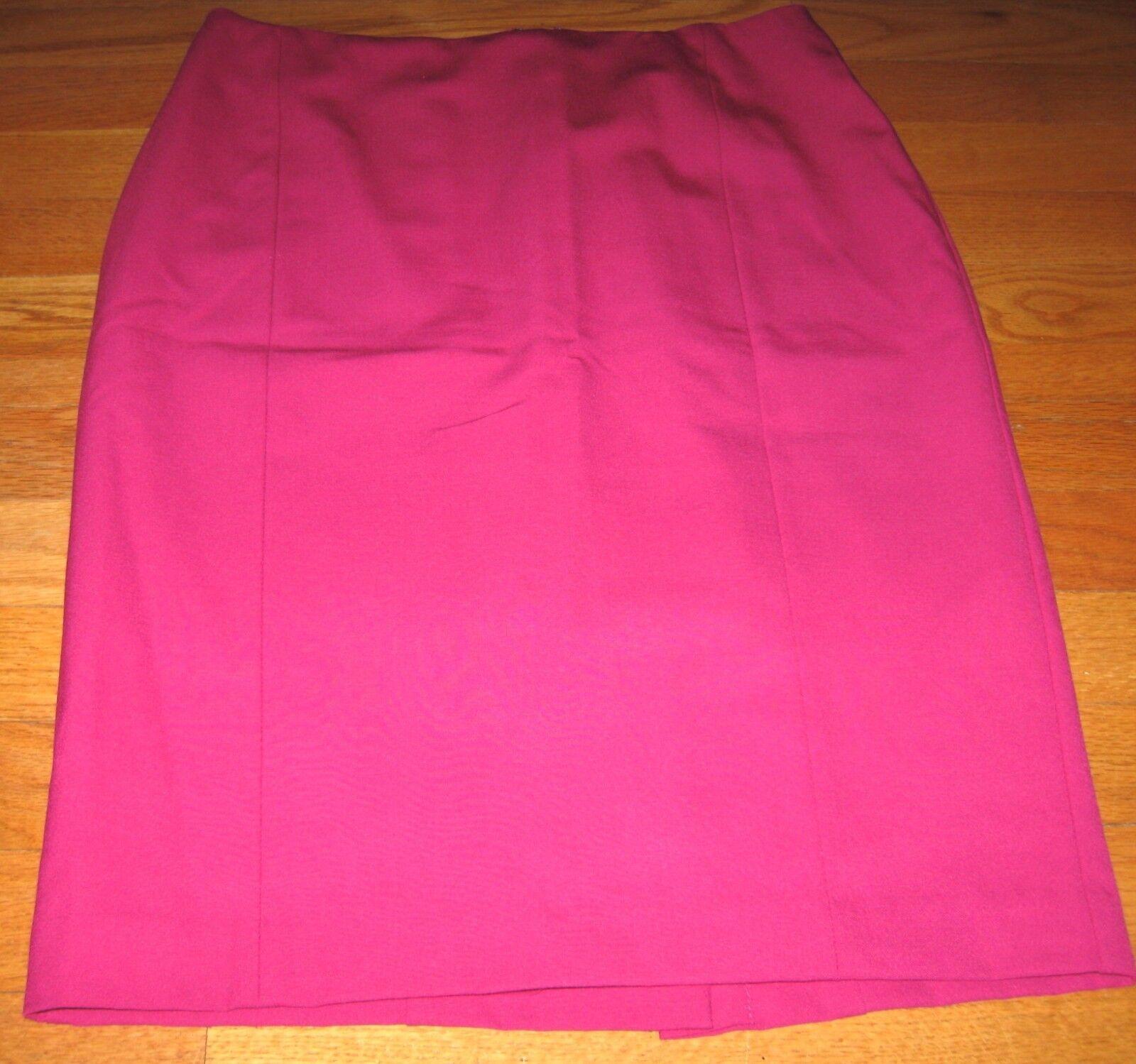 Ann Taylor XS S 2 NWT Skirt Ret. 78.00  Straight Pencil Pink Purple