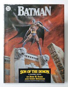 BATMAN-Son-of-the-Demon-TPB-Graphic-Novel-1987-DC-Comics-VF-NM-1st-Print