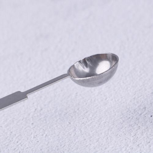 Large silver stamp spoon vintage wax sealing spoon melting sealing wax stick  EC