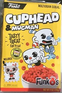 Funko-Pop-CUPHEAD-AND-MUGMAN-CEREAL-UK-SELLER
