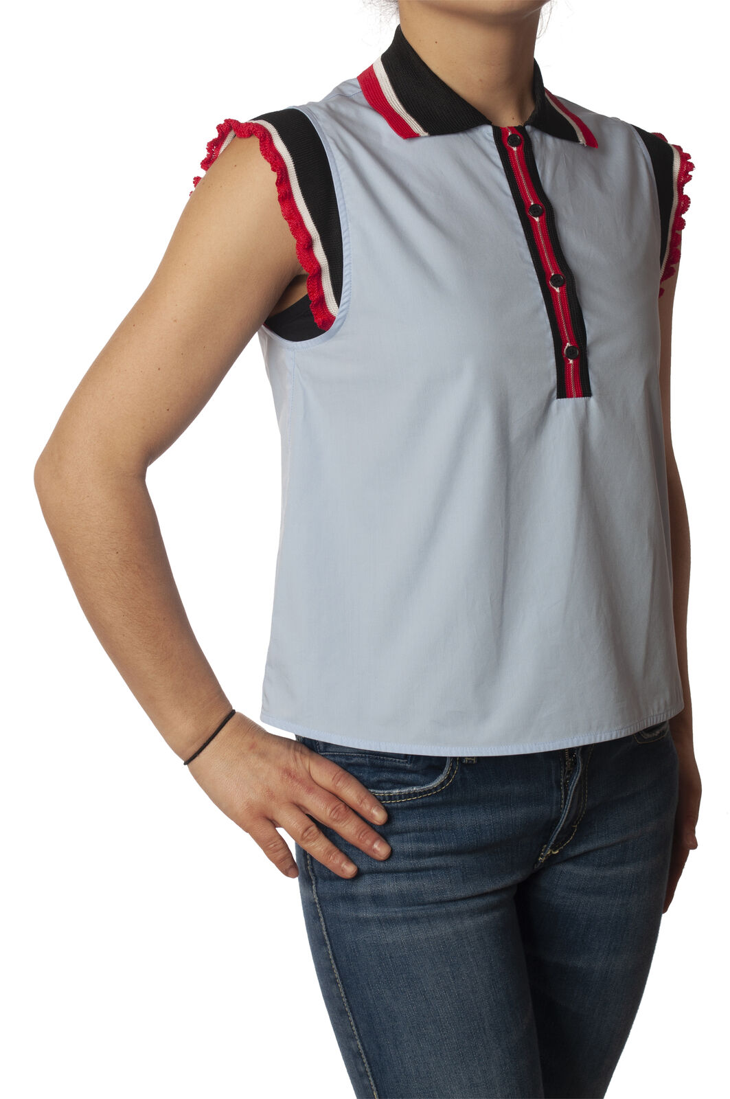 Pinko - Shirts-Shirt - Woman - bluee - 5877209E191159