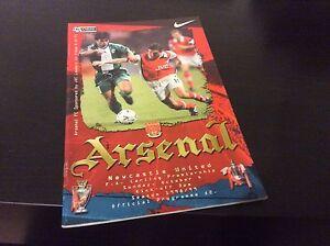 Arsenal-v-Newcastle-United-1998-99