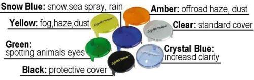 1 Lightforce Off-Road 140 Lance Hid Light Filter Covers